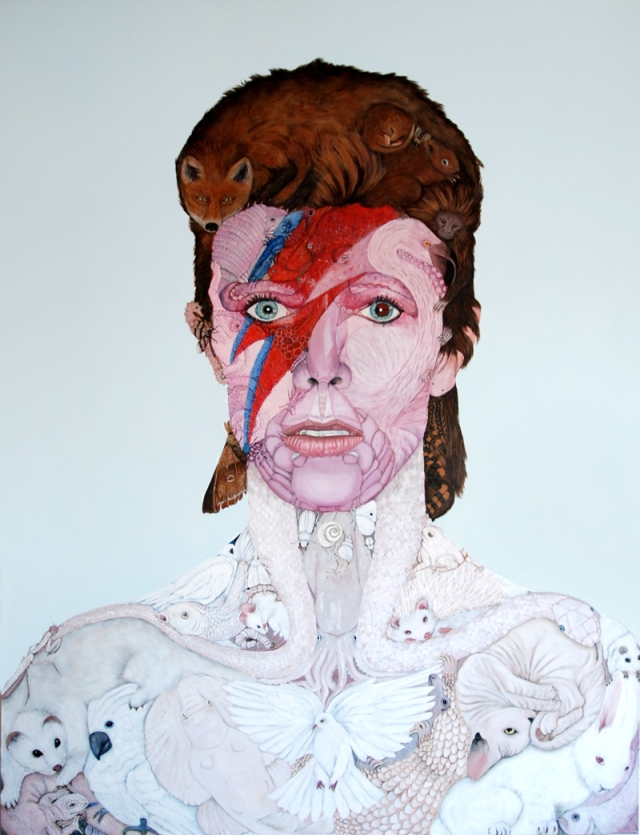 Hisham Echafaki - Anthropomorphic Bowie