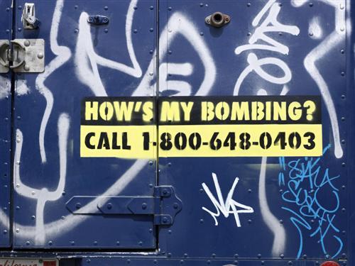 Banksy Swat Van 06