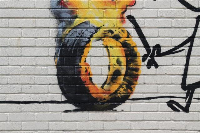 Banksy Tyre (Large)