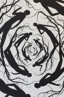 ┬®DAVID-DE-LA-MANO-2016-Untitled-1-Acrylique-sur-toile-195x130cm